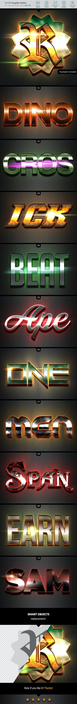 10 3D Styles vol. 16 - Styles Photoshop