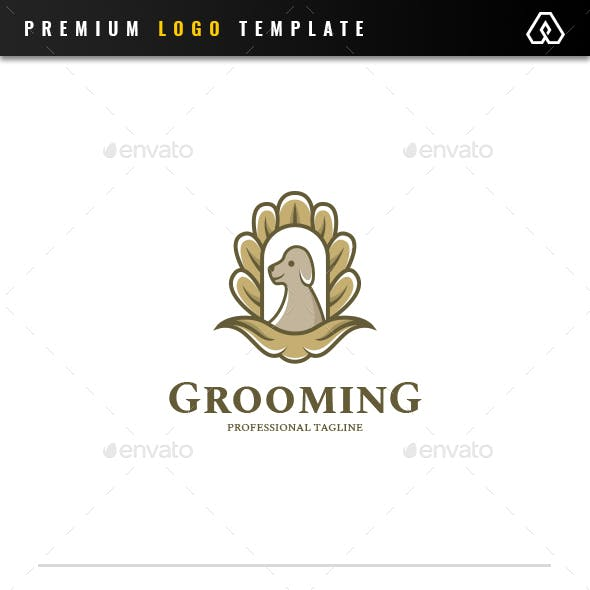 Royal Grooming Pet Logo