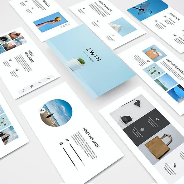Ewin - Creative Powerpoint Template
