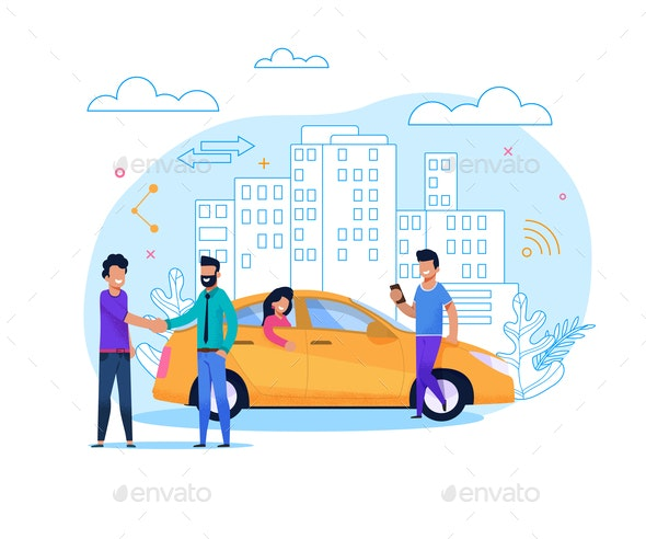 Yellow Taxi Order or Share - Industries Business