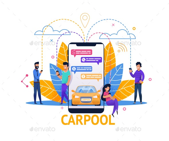Carpool Mobile Application - Industries Business