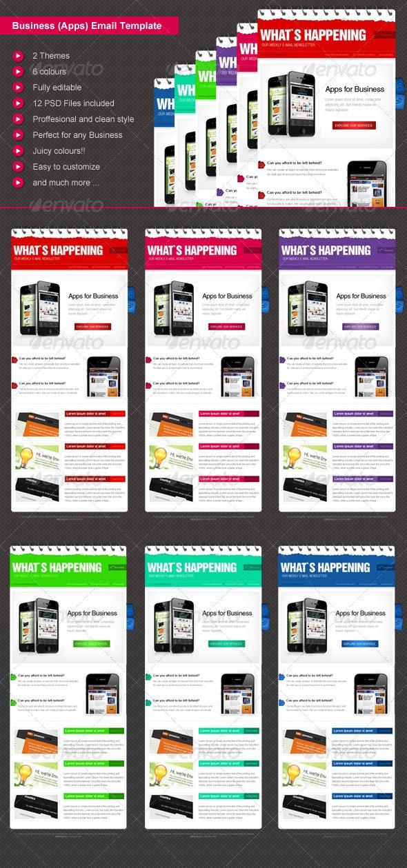 Business eNewsletter Design - E-newsletters Web Elements