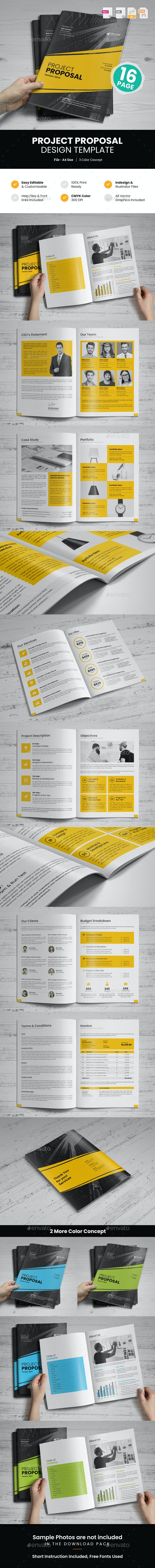 Project Proposal Design v3 - Proposals & Invoices Stationery
