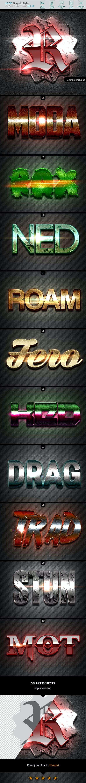 10 3D Styles Vol. 08 - Styles Photoshop