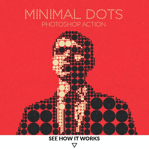 Minimal Dots Photoshop Action