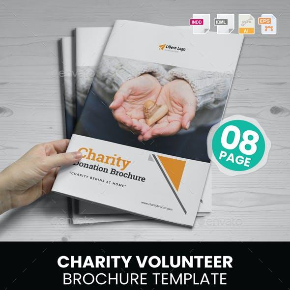 Charity Volunteer Donation Brochure v1