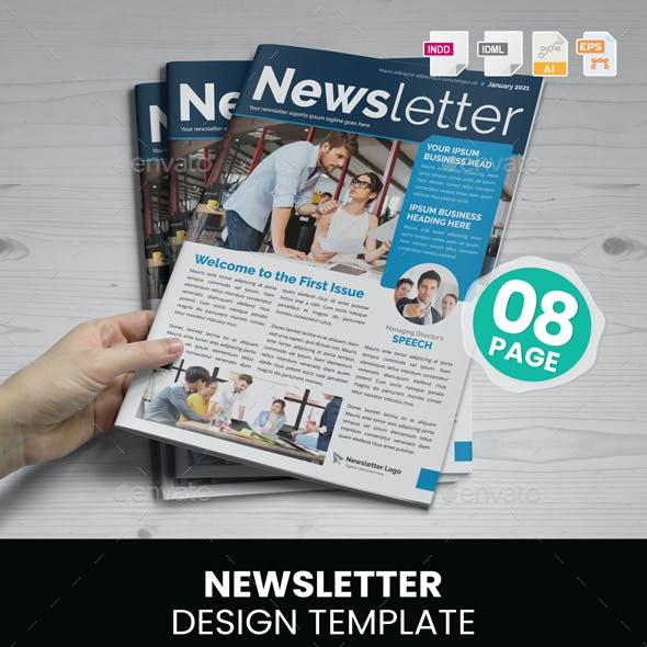 Newsletter Design v1