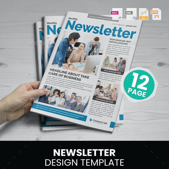 Newsletter Design v2