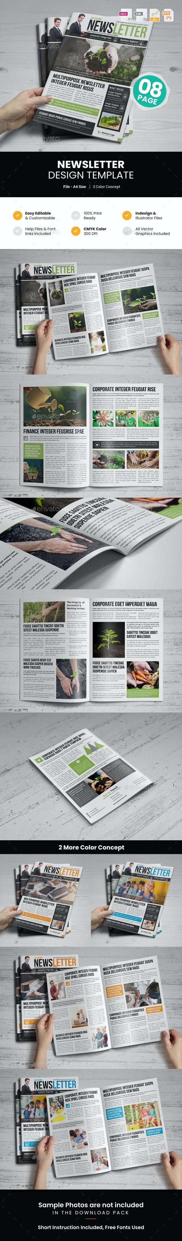 Newsletter Design v5