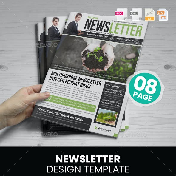 Newsletter Design v5