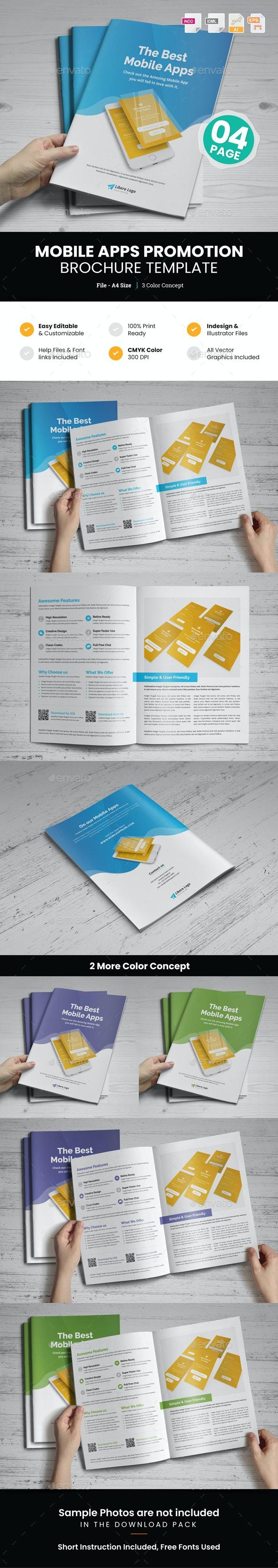 Mobile Apps Promotion Brochure v1 - Corporate Brochures