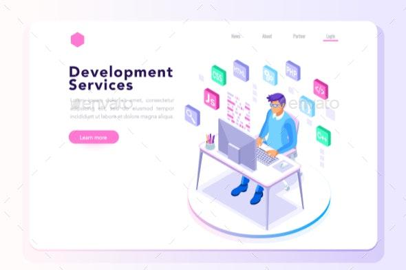 Program Developer for Website Banner - Services Commercial / Shopping
