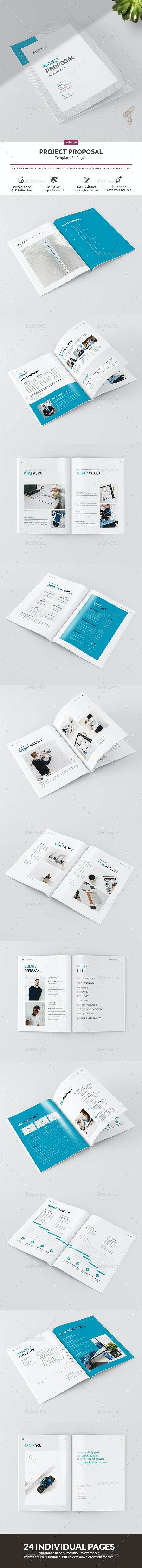Project Proposal - Brochures Print Templates