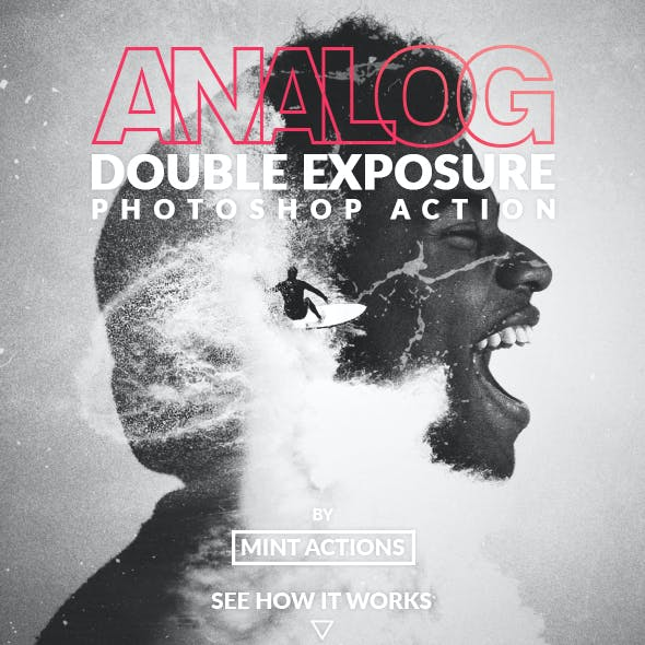 Analog Double Exposure Photoshop Action