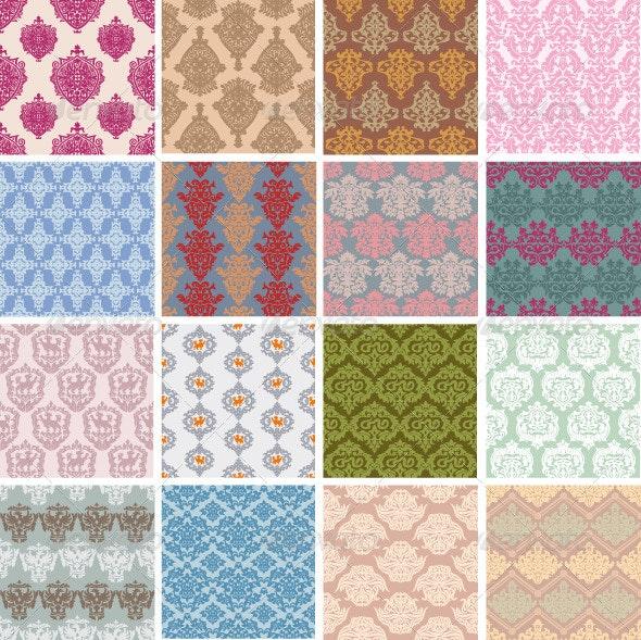 Seamless Retro Patterns - Patterns Decorative