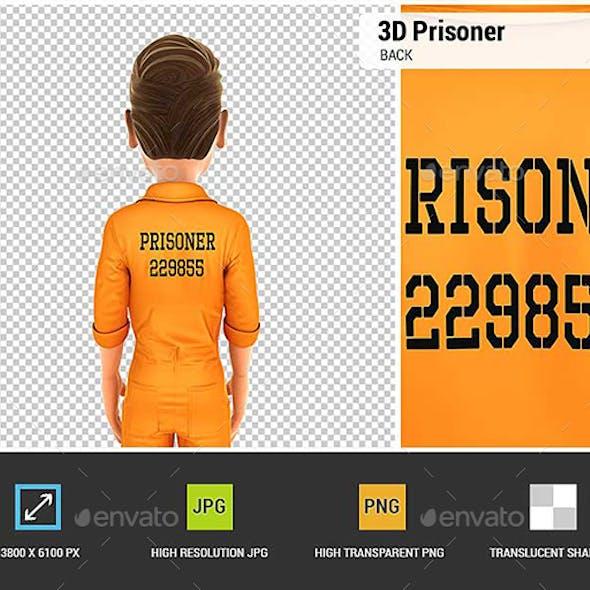 3D Prisoner Back