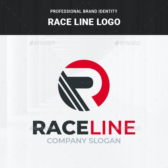 Race Line - Letter R Logo