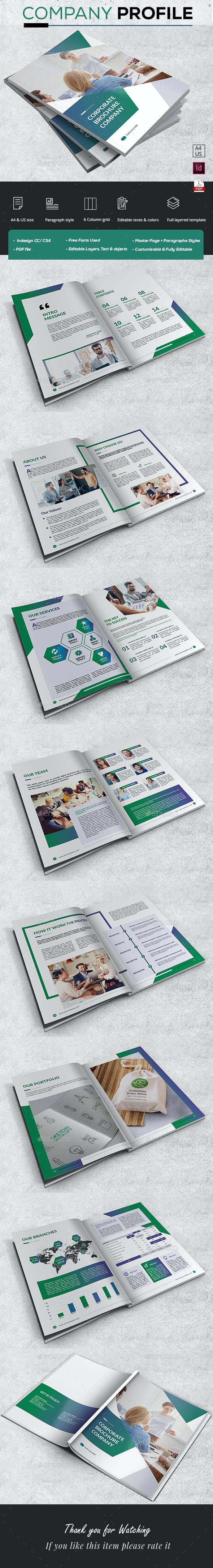 Stylish Company Brochure - Corporate Brochures