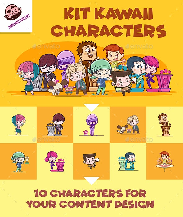 Characters Kit - People Characters