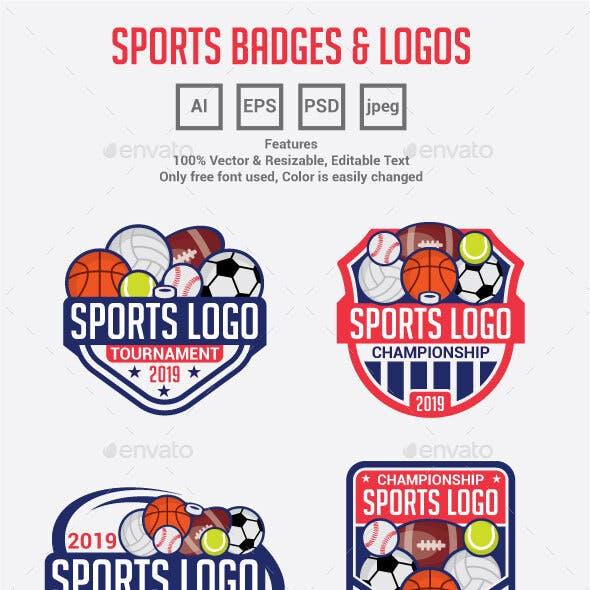 Sports Logo Badges