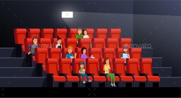 People Watching Movie - People Characters