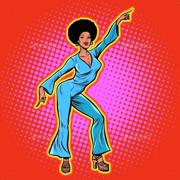 Retro Disco Dance