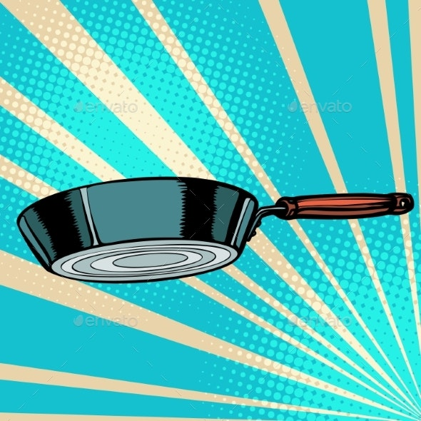 Griddle Frying Pan Skillet Saucepan Kitchen - Man-made Objects Objects