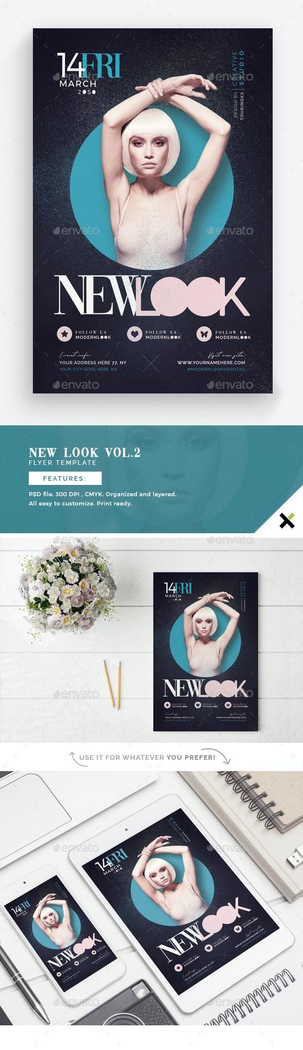 New Look Vol Flyer Template - Flyers Print Templates