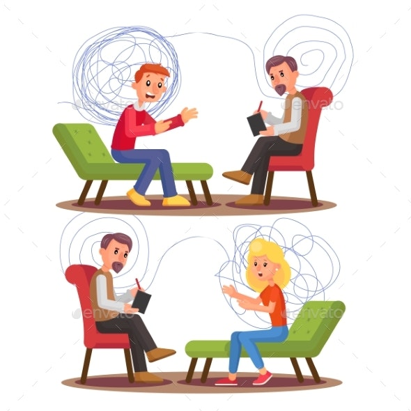 Psychiatry Psychology Professional Consultation - Health/Medicine Conceptual