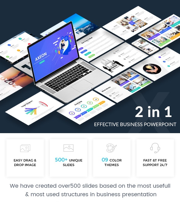 Bundle 2 in 1 Effective Business Powerpoint Template - Business PowerPoint Templates