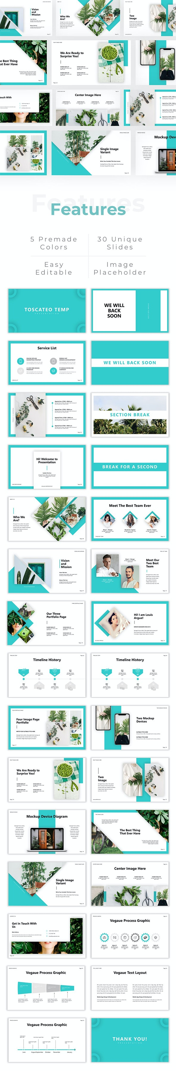 Toscateo - Creative PowerPoint Template - Creative PowerPoint Templates