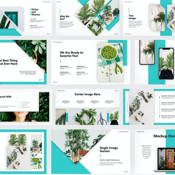 Toscateo - Creative PowerPoint Template