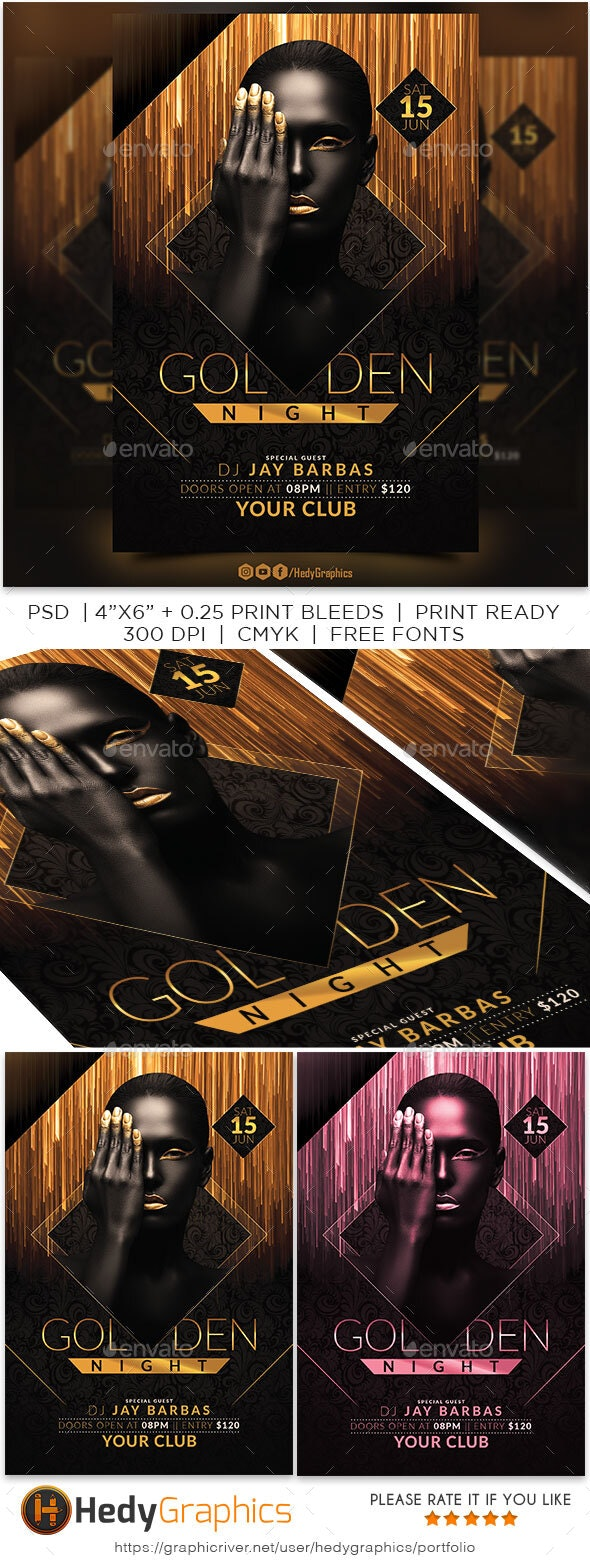 Golden Night - Clubs & Parties Events