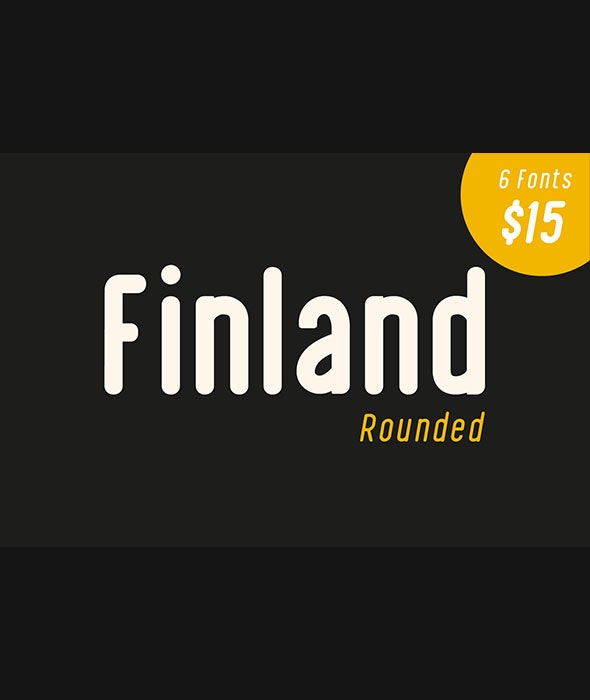 Finland Rounded - Font Family - Sans-Serif Fonts