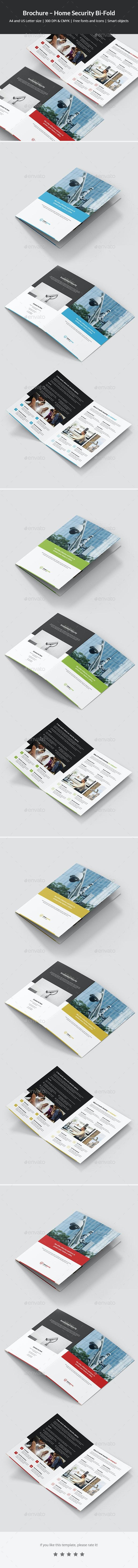 Brochure – Home Security Bi-Fold - Corporate Brochures