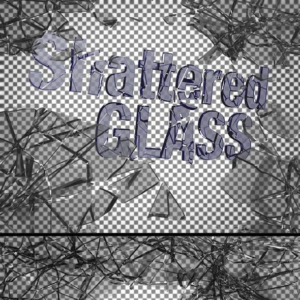 Ten Shattered Glass Overlays