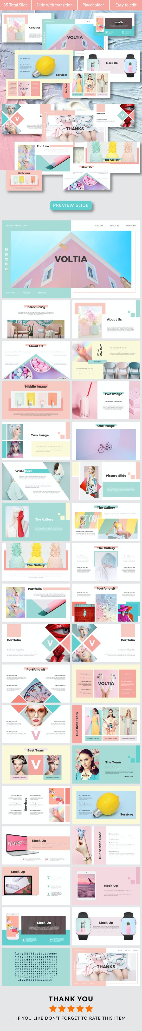 Voltia PowerPoint Temp - Creative PowerPoint Templates