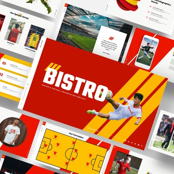 Bistro - Soccer & Football Keynote Template