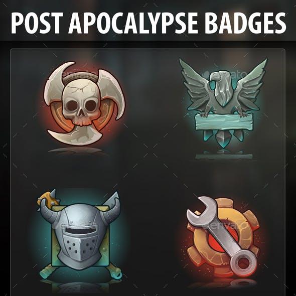 Post Apocalypse Badges