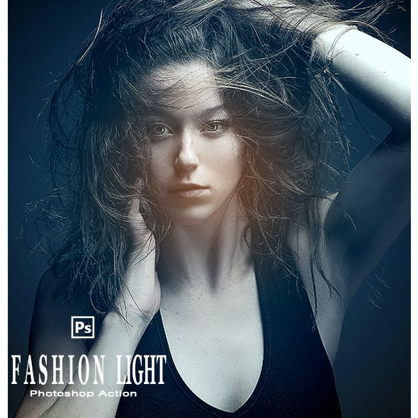 Fashion Light Leak Photoshop Action