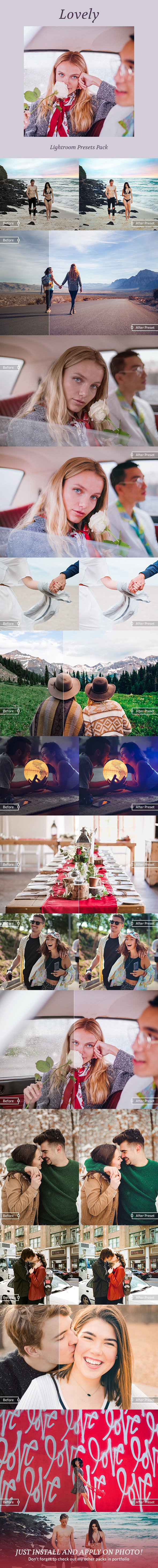 Lovely Lightroom Presets - Lightroom Presets Add-ons