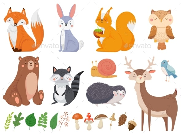 Woodland Animals - Animals Characters