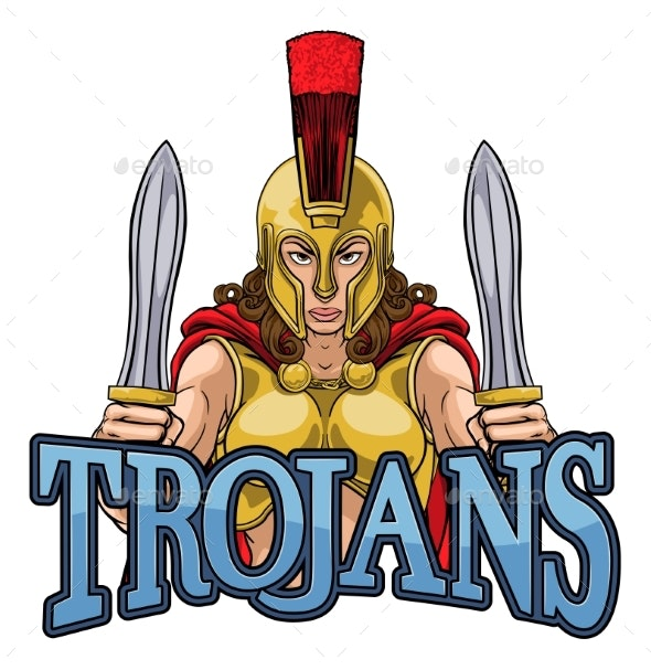 Spartan Trojan Female Warrior Gladiator Woman - People Characters
