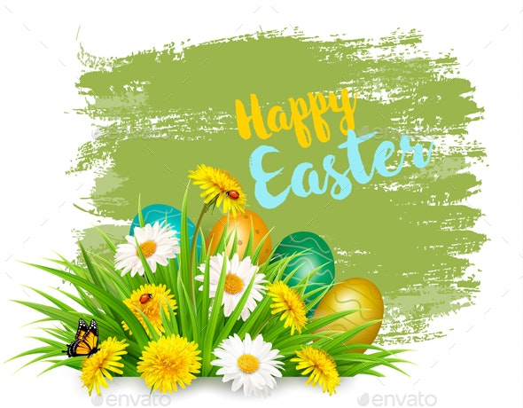 Easter Holiday Background - Miscellaneous Seasons/Holidays