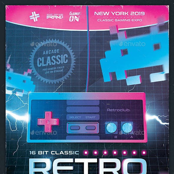 Video Game Graphics, Designs & Templates from GraphicRiver