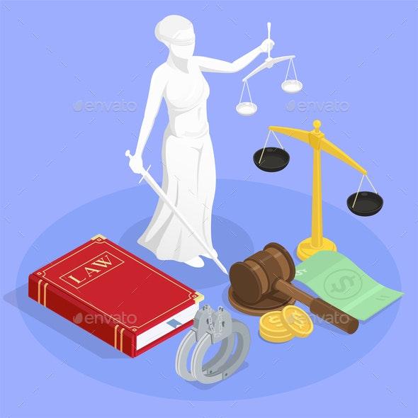 Themis The Justice Composition - Miscellaneous Vectors
