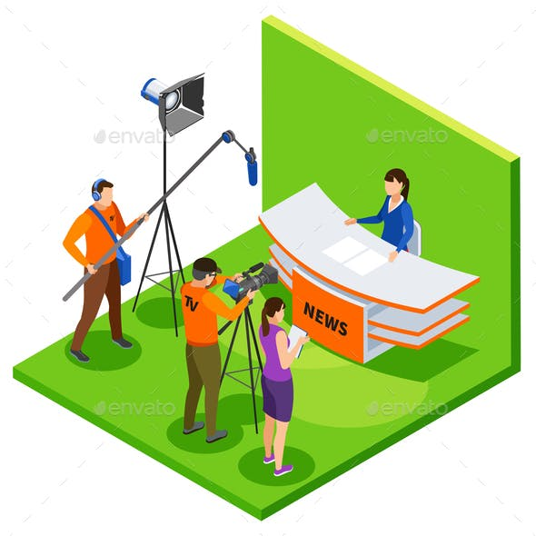 Broadcasting Isometric Composition