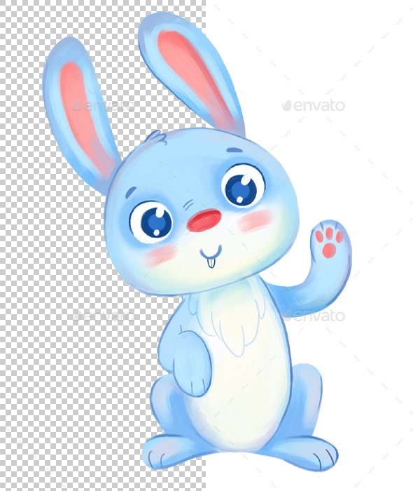 Rabbit - Characters Illustrations