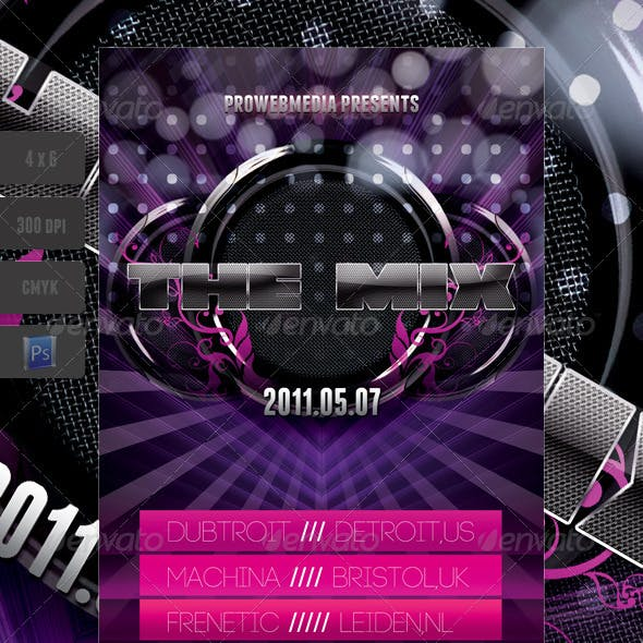 Music Speakers Flyer Template