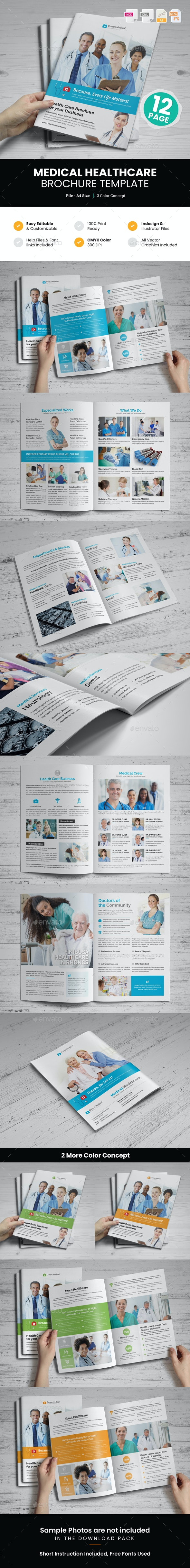 Medical HealthCare Brochure v2 - Corporate Brochures
